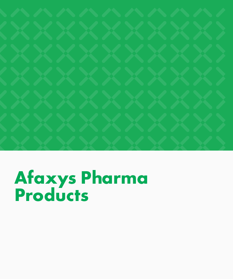 Afaxys Pharma Products